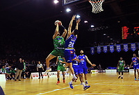 Jets' Jake McKinlay in action during the National Basketball League match between the Wellington Saints and Manawatu Jets at TSB Bank Arena in Wellington, New Zealand on Sunday, 13 June 2021. Photo: Dave Lintott / lintottphoto.co.nz
