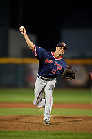 Portland Sea Dogs pitcher Jake Cosart (11) during an Eastern League game against the Erie SeaWolves on June 17, 2019 at UPMC Park in Erie, Pennsylvania.  Portland defeated Erie 6-3.  (Mike Janes/Four Seam Images)