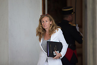 French Justice Minister Nicole Belloubet leaves the Elysee presidential palace following the weekly cabinet meeting on Wednesday, 28 June 2017 in Paris # CONSEIL DES MINISTRES DU 28/06/2017