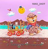GIORDANO, CUTE ANIMALS, LUSTIGE TIERE, ANIMALITOS DIVERTIDOS, Teddies, paintings+++++,USGI2427,#AC# teddy bears