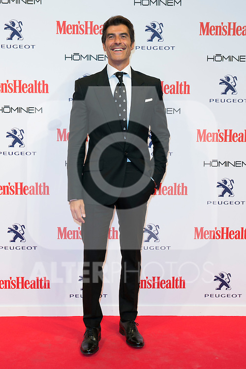 Jorge Fernandez attend the MENS HEALTH AWARDS at Goya Theatre in Madrid, Spain. October 28, 2014. (ALTERPHOTOS/Carlos Dafonte)