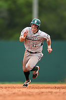 Slippery Rock Jordan Faretta (11) during a game against the University of the Sciences Devils on March 6, 2015 at Jack Russell Field in Clearwater, Florida.  Slippery Rock defeated University of the Sciences 6-3.  (Mike Janes/Four Seam Images)