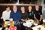 Ann and Pat Moynihan, Mary Coleman, Ann Mohally and Noel Moynihan enjoying the evening in the Brogue Inn on Saturday