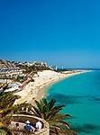 Spanien, Kanarische Inseln, Fuerteventura, Halbinsel Jandia, Strand von Morro Jable   Spain, Canary Island, Fuerteventura, peninsula Jandia, Morro Jable, beach