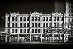 Black & white of building on Third St., Dayton Ohio