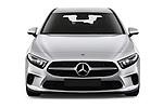 Car photography straight front view of a 2019 Mercedes Benz A Class Progressive 5 Door Hatchback