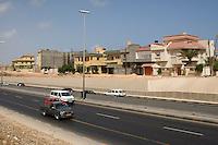 Tripoli, Libya - New Housing Construction along Major Highway