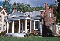 Galena: Hodge House, 1845. Park Avenue. Photo '77.