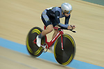 Leung Bo Yee of the Ligne 8- CSR competes in the Women Elite - Individual Pursuit Final category during the Hong Kong Track Cycling National Championships 2017 at the Hong Kong Velodrome on 18 March 2017 in Hong Kong, China. Photo by Chris Wong / Power Sport Images