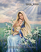 Dona Gelsinger, EASTER RELIGIOUS, paintings, Madonna, lilies(USGE9606,#ER#) Ostern, religiös, Pascua, relgioso, illustrations, pinturas