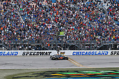 Monster Energy NASCAR Cup Series<br /> Tales of the Turtles 400<br /> Chicagoland Speedway, Joliet, IL USA<br /> Sunday 17 September 2017<br /> Martin Truex Jr, Furniture Row Racing, Furniture Row/Denver Mattress Toyota Camry celebrates his win <br /> World Copyright: Russell LaBounty<br /> LAT Images