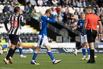 St Mirren v St Johnstone…29.08.21  SMiSA Stadium    SPFL<br />David Wotherspoon reacts after seeing his late shot at goal go over the bar<br />Picture by Graeme Hart.<br />Copyright Perthshire Picture Agency<br />Tel: 01738 623350  Mobile: 07990 594431