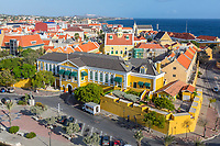 Willemstad, Curacao, Lesser Antilles.  Governor's Palace.