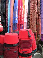 Fez & scarves