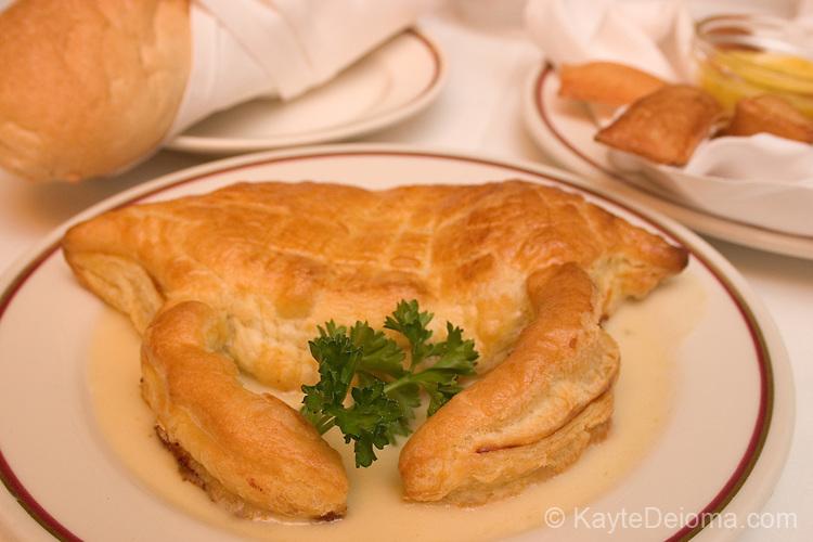 Crabmeat Karen at Arnaud's Restaurant in New Orleans