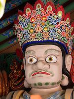 Himmelskönig, buddhistischer Beomosa Tempel bei Busan, Gyeongsangnam-do, Südkorea, Asien<br /> Heavenly king, buddhist temple Beomosa near Busan,  province Gyeongsangnam-do, South Korea, Asia