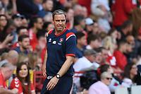 Michael Duff Manager of Cheltenham FC during Charlton Athletic vs Cheltenham Town, Sky Bet EFL League 1 Football at The Valley on 11th September 2021