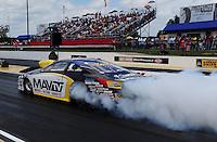 May 6, 2012; Commerce, GA, USA: NHRA pro stock driver Rodger Brogdon during the Southern Nationals at Atlanta Dragway. Mandatory Credit: Mark J. Rebilas-