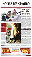 18.01.2018 - Manifestante depreda agência bancária durante ato do MPL(Movimento Passe Livre) em Pinheiros contra o aumento da tarifa dos transportes públicos. (Foto: Fábio Vieira/FotoRua)