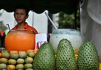 Mandarina, mandarino, tangerine,  Citrus reticulata, Citrus unshiu, Citrus reshni, guanábana, soursop, Annona muricata, graviola. Photo: VizzorImage/CONT