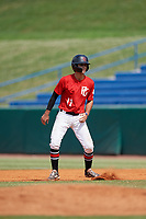 Austin Stracener (11) of Canyon High School in New Braunfels, TX during the Perfect Game National Showcase at Hoover Metropolitan Stadium on June 20, 2020 in Hoover, Alabama. (Mike Janes/Four Seam Images)