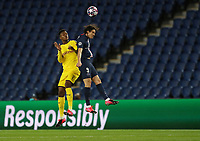 Borussia Dortmund's Dan Axel Zagadou in action with Paris St Germain's Edinson Cavani    <br /> Photo Pool/Panoramic/Insidefoto