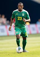 KANSAS CITY, KS - JUNE 26: Anthony Jeffrey #23 during a game between Guyana and Trinidad