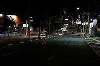 Campinas (SP), 18/03/2021 - Toque de Recolher - Av. Moraes Sales. A cidade de Campinas (SP) começa a aplicar nesta quinta-feira (18) toque de recolher a partir das 20h, com restrições a serviços essenciais, e punições mais rigorosas para quem descumprir as novas regras impostas pela prefeitura com objetivo de reduzir os indicadores da Covid-19. A Guarda Municipal, em parceria com as Polícias Civil e Militar, promove ação de bloqueio e fiscalização. Desde o início da pandemia a metrópole registra 75.281 infectados, incluindo 2.065 mortes.