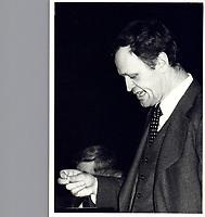 File Photo  - Jean Chretien - december 6, 1978<br /> <br /> PHOTO  :  John Raudsepp<br />  - Agence Quebec Presse