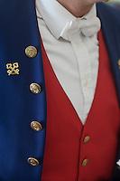 Europe/France/Provence-Alpes-Côte d'Azur/06/Alpes-Maritimes/Nice:  Hôtel: Le Négresco- Le Concierge détail du costume