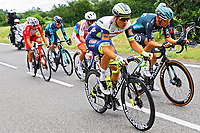 14th July 2021, Muret, France;  VAN POPPEL Danny (NED) of INTERMARCHE - WANTY GOBERT MATERIAUX during stage 17 of the 108th edition of the 2021 Tour de France cycling race, a stage of 178,4 kms between Muret and Saint-Lary-Soulan.