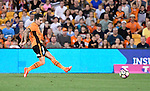BRISBANE, AUSTRALIA - OCTOBER 30: Jamie MacLaren of the roar scores a goal during the round 5 Hyundai A-League match between the Brisbane Roar and Melbourne City at Suncorp Stadium on November 4, 2016 in Brisbane, Australia. (Photo by Patrick Kearney/Brisbane Roar)