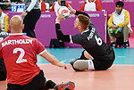 Bryce Foster and Mikael Bartholdy, Lima 2019 - Sitting Volleyball // Volleyball assis.<br />