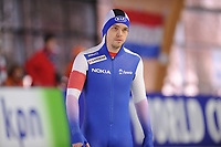 SPEEDSKATING: ERFURT: 19-01-2018, ISU World Cup, 500m Men B Division, Harri Levo (FIN), photo: Martin de Jong