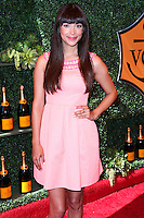 PACIFIC PALISADES, CA, USA - OCTOBER 11: Hannah Simone arrives at the 5th Annual Veuve Clicquot Polo Classic held at Will Rogers State Historic Park on October 11, 2014 in Pacific Palisades, California, United States. (Photo by Xavier Collin/Celebrity Monitor)