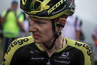 Jack Haig (AUS/Mitchelton-Scott) after finishing up Foix / Prat d'Albis<br /> <br /> Stage 15: Limoux to Foix Prat d'Albis (185km)<br /> 106th Tour de France 2019 (2.UWT)<br /> <br /> ©kramon