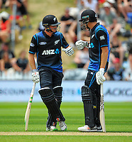 160125 ODI Cricket - NZ Black Caps v Pakistan