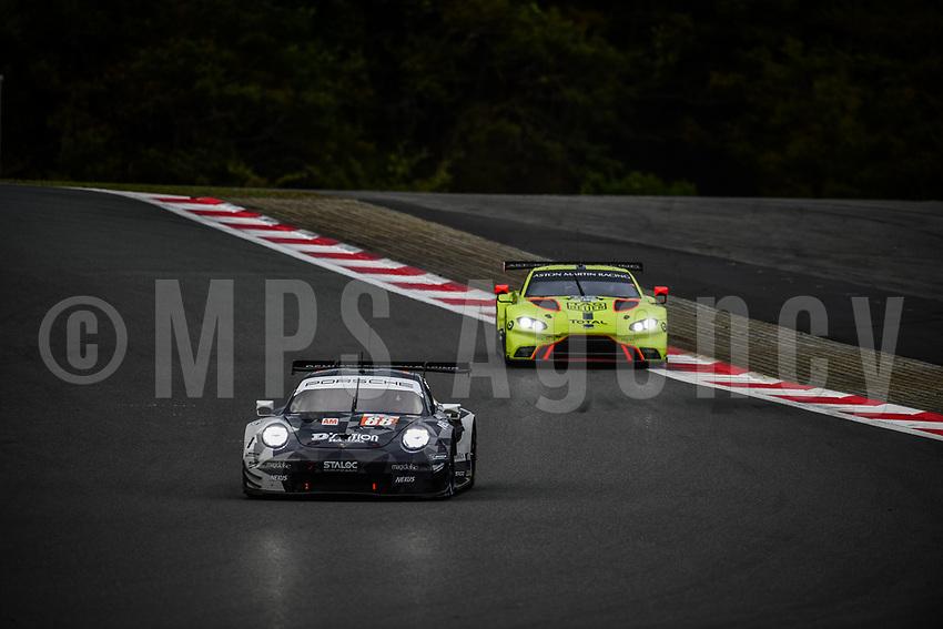 #88 DEMPSEY PROTON RACING (DEU) PORSCHE 911 RSR GTE AM SATOSHI HOSHINO (JPN) GIORGIO RODA (ITA) MATTEO CAIROLI (ITA)