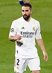 Real Madrid's Daniel Carvajal during UEFA Champions League Semi-finals 1st leg match. April 27,2021.(ALTERPHOTOS/Acero)