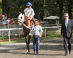 Moreno withJose Ortiz score a mild upset to win the 96th running of the Grade II Dwyer Stakes for 3-year olds,  going 1 1/8 mile, at Belmont Park.  Trainer Eric Guillot   Owners Southern Equine Stables