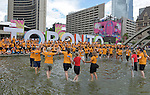Toronto 2015.<br /> Highlights from the Volunteer recognition at Nathan Phillips Square with Toronto Mayor John Tory // Faits saillants de la reconnaissance des bénévoles au Nathan Phillips Square avec le maire de Toronto, John Tory. 04/08/2015.