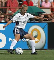 Lindsay Tarpley, USWNT vs Brazil.