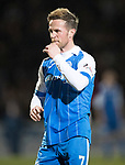 St Johnstone v Hearts…23.12.17…  McDiarmid Park…  SPFL<br />Chris Millar<br />Picture by Graeme Hart. <br />Copyright Perthshire Picture Agency<br />Tel: 01738 623350  Mobile: 07990 594431