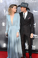 LAS VEGAS, NV, USA - APRIL 06: Faith Hill, Tim McGraw at the 49th Annual Academy Of Country Music Awards held at the MGM Grand Garden Arena on April 6, 2014 in Las Vegas, Nevada, United States. (Photo by Celebrity Monitor)