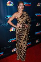 "NEW YORK, NY - SEPTEMBER 18: Heidi Klum attends the ""America's Got Talent"" Season 8 Finale held at Radio City Music Hall on September 18, 2013 in New York City. (Photo by Jeffery Duran/Celebrity Monitor)"