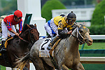 13 June 2009: Macho Again (yellow silks) with Robbie Albardado up wins the 28th running of the Grade 1 Stephen Foster Handicap at Churchill Downs in Louisville, Kentucky.