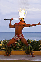 Hawaiian firedancer, Oahu, Hawaii