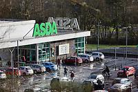 2019 01 23 ASDA supermarket in Ystalyfera, Wales, UK
