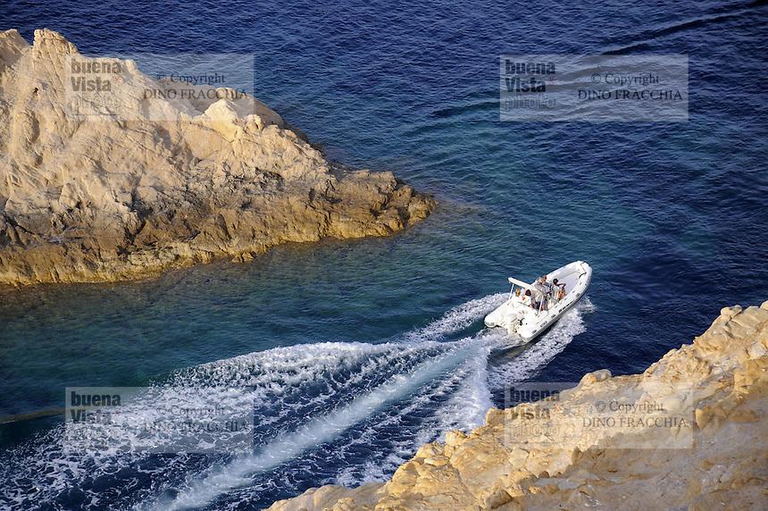 - Corsica, Ile Rousse, rocks of de la Pietra island<br /> <br /> - Corsica, Ile Rousse, scogli dell'isola de la Pietra