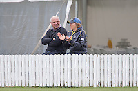 Davis White and coach Haidee Tiffen during the second ODI cricket match between NZ and Pakistan at Bert Sutcliffe Oval in Lincoln, New Zealand on Friday, 11 November 2016. Photo: Martin Hunter / lintottphoto.co.nz